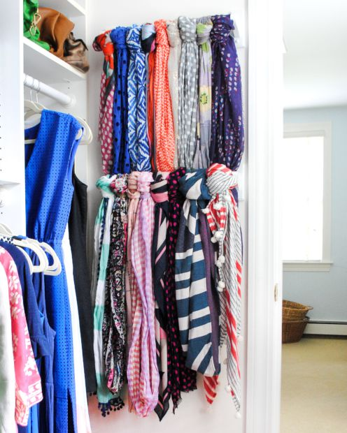organize your wardrobe, over the door rack